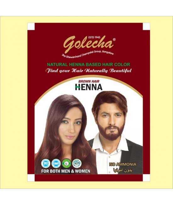 Golecha Brown Hair Henna