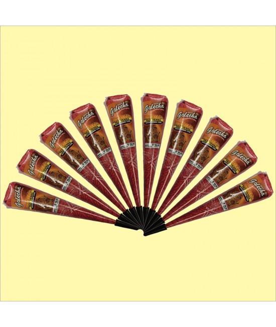 Golecha Copper Maroon Henna Cone