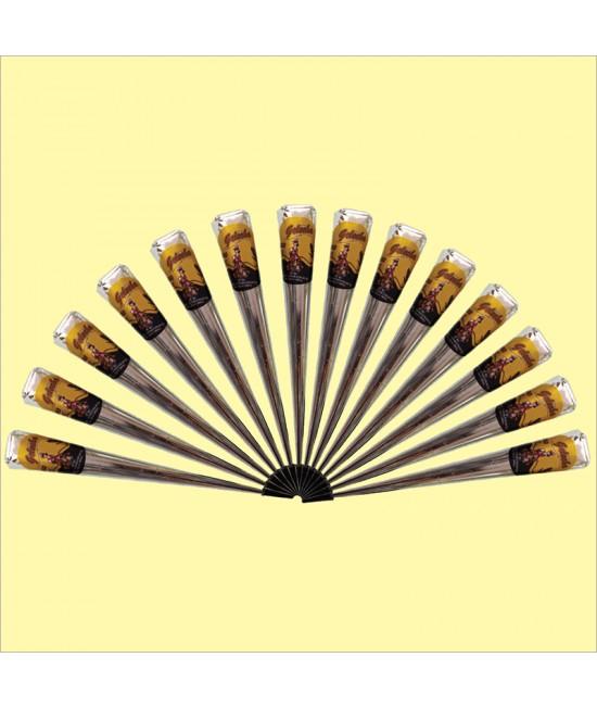 Golecha Special Black Henna Cone