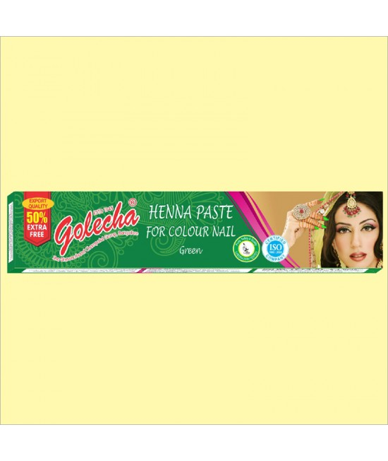Golecha Green Nail Henna Color Tube