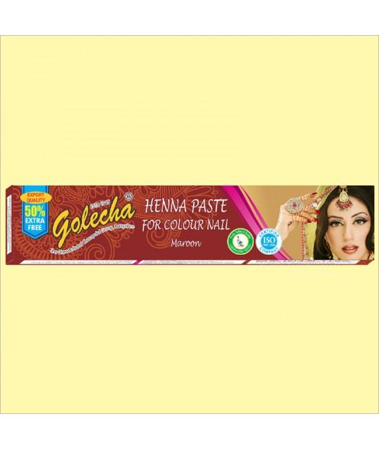 Golecha Maroon Nail Henna Color Tube