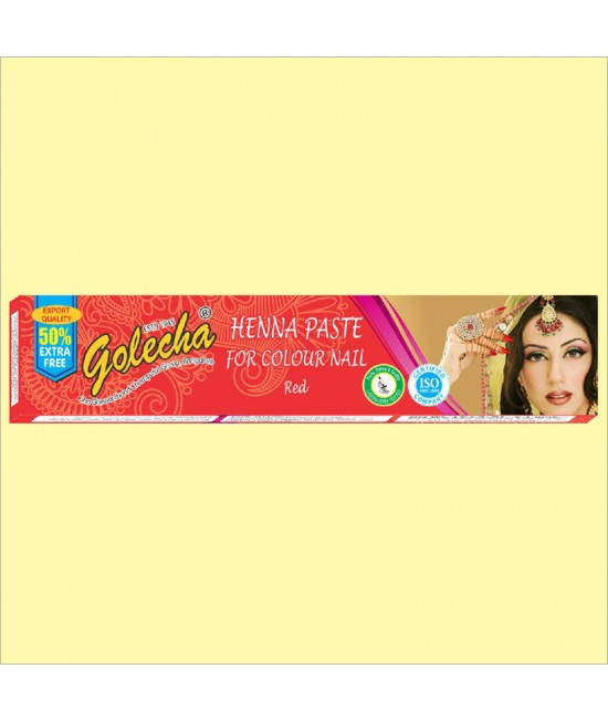 Golecha Red Nail Henna Color Tube