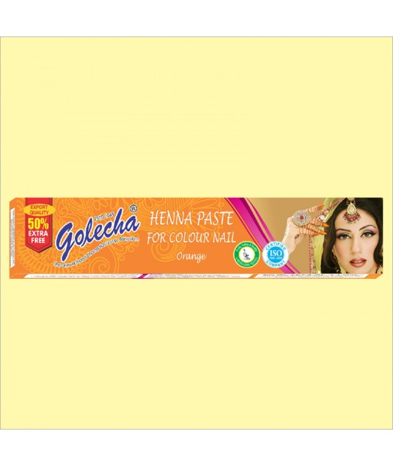 Golecha Orange Nail Henna Color Tube