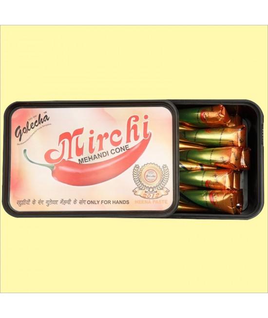 Golecha Mirchi Henna Tiff in Box