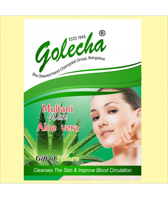 Golecha Multani With Aloe Vera Powder