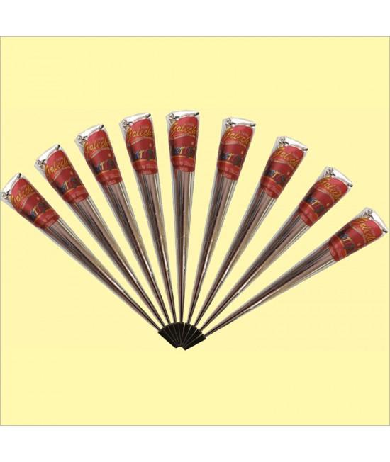 Golecha Cherry Jumbo Gold Henna Cone
